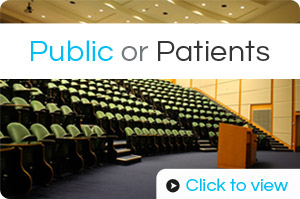 Click to view seminars for public or patients